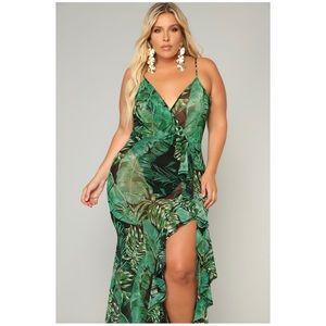 More Than Enough Tropical Dress